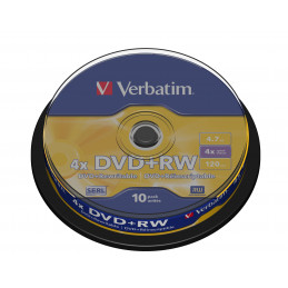 Verbatim DVD+RW Matt Silver...