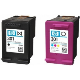 HP 301 Combo Pack Black/Color